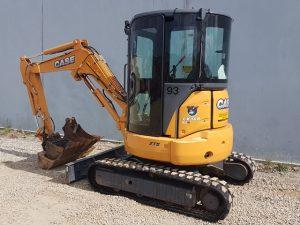 Case 3.6t excavator for hire