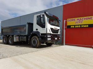 Iveco Trakker Tip Truck For Hire