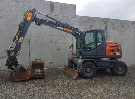 Wheeled Excavators For Hire